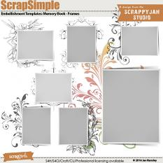 See also ScrapSimple Embellishment Templates: Memory Book - Frames by Jan Ransley