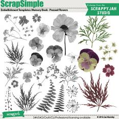 See also ScrapSimple Embellishment Templates: Memory Book - Pressed Flowers by Jan Ransley