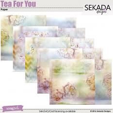 Tea For You Paper