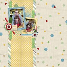 Best Job In The World layout using the Mom's Day Collection Biggie