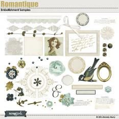 Romantique Collection Embellishment Details