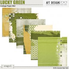 ucky Green Collage #digitalscrapbooking background papers by Amanda Fraijo-Tobin