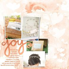 Layout by Jody West using Artful Life Paint paper templates
