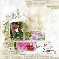 Layout by Amy Flanagan using Artful Life paper templates