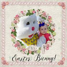"""Easter Bunny"" Layout by Andrea Hutton"