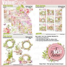 Value Pack: Pink Spring