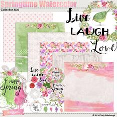 Springtime Watercolor Collection Mini by Cindy Rohrbough