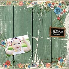 """Addison"" Layout By Andrea Hutton"