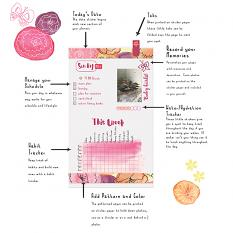 Plan Perfect May Planner Mini Kit Info