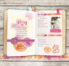 Plan Perfect May Planner Mini Kit Layout