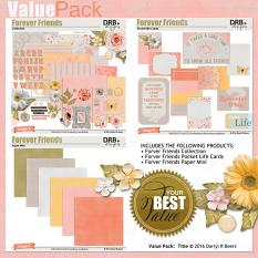 Forever Friends Value Pack by DRB Designs | ScrapGirls.com