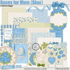 Roses for Mum (Blue) Collection Biggie