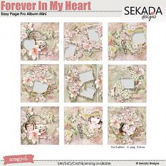Easy Page Pro Album: Forever In My Heart Mini