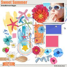 Sweet Summer Embellishments