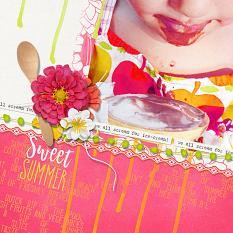 Ice Cream layout by Brandy Murry