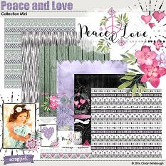 Peace and Love Collection Mini by Cindy Rohrbough