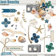 Just Beachy Embellishments