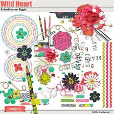 Wild Heart Embellishments