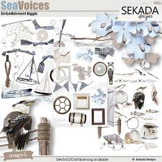 Sea Voices Embellishment Biggie