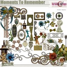 Moments To Remember Embellishments