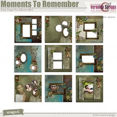 Moments To Remember Album Mini