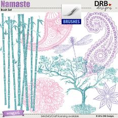 Namaste Brushes by DRB Designs