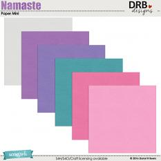 Namaste Paper Mini by DRB Designs