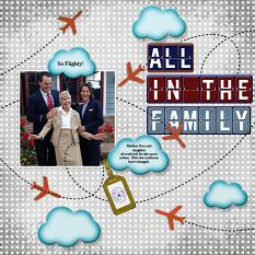 Digital scrapbooking layout by Andrea Hutton using SS Paper Templates: Going Places