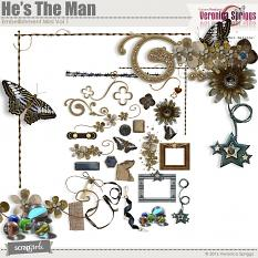 He's The Man Embellishment Mini Vol 1