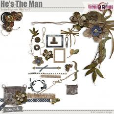 He's The Man Embellishment Mini Vol 3