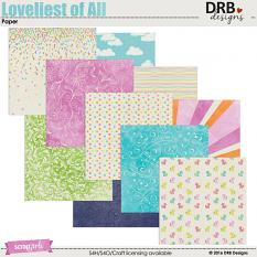 Loveliest of All Paper by DRB Designs | ScrapGirls.com