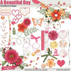 A Beautiful Day Embellishment Biggie