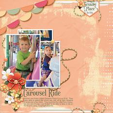 """Carousel Ride"" layout using A Beautiful Day Collection"
