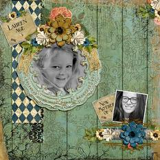 Layout By Andrea Hutton using Keepsakes Collection Mini