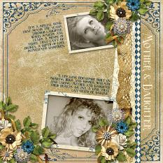 Layout By Cindy Rohrbough using Keepsakes Collection Mini