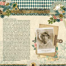 Layout By Joyce Schardt using Keepsakes Collection Mini