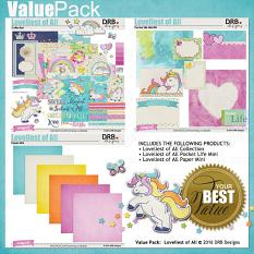 Loveliest of All Value Pack by DRB Designs | ScrapGirls.com