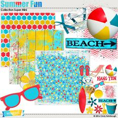 Summer Fun Collection Super Mini By Cindy Rohrbough