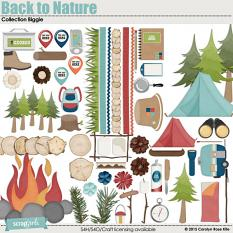 Back to Nature Embellishments Biggie by Carolyn Rose Kite