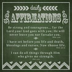 Affirmations by Luisa Kelly