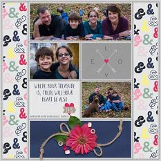 Digital scrapbooking layout featuring Pocket Life: Bold As Love