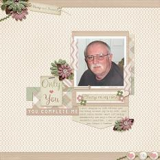 """""""Always and Forever"""" layout using Always and Forever Collection"""