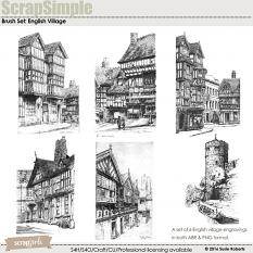 Brush Set: English Village Prev