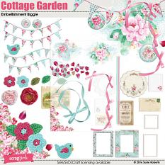 Cottage Garden Embellishment Biggie Prev