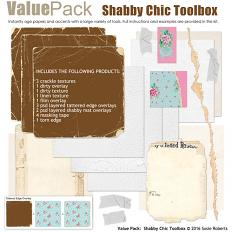 Value Pack: Shabby Chic Toolbox Prev
