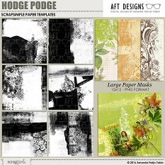 #digitalscrapbooking blending Paper Templates: Hodge Podge 1 - Created blended photo backgrounds, personalized printable papers and more | AFT designs