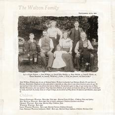 The Walton Family by Susie Roberts
