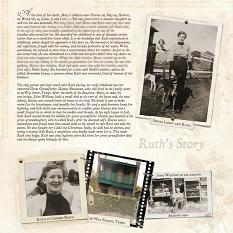 Ruth's Story by Susie Roberts