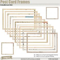 Post Card Frames Embellishment Mini Prev