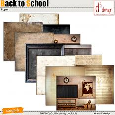back to school paper by d's design